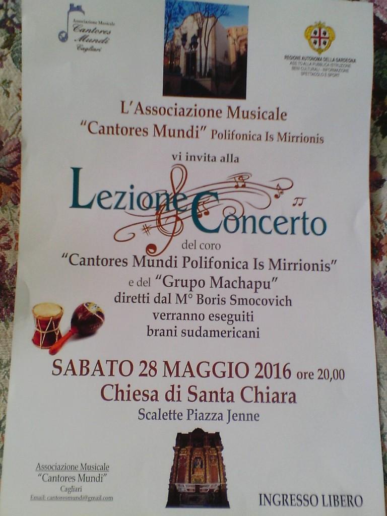 Lezione Concerto